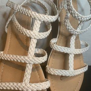 White Strap Women's Sandals